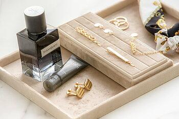 Smyckesbricka sand, stor