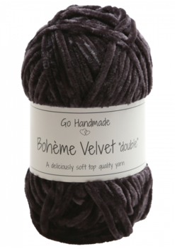 "Bohème Velvet ""double"" Black"