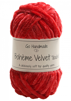 "Bohème Velvet ""double"" Red"