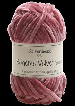 "Bohème Velvet ""double"" Raspberry"