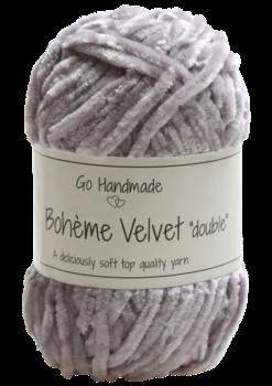 """Bohème Velvet """"double"""" Gray"""