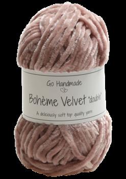 """Bohème Velvet """"double"""" Nude"""