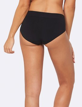 Midi Brief, Black, Underwear, Boody Bamboo Eco Wear, Ekologisk