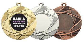 Medaljer 50 mm - Pris inklusive Motiv och valfri text på baksidan