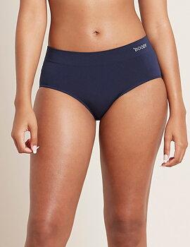 Midi Brief, Navy, Underwear, Boody Bamboo Eco Wear, Organic