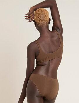 Padded Shaper Crop Bra, Nude 6, Boody Bamboo Eco Wear, Organic