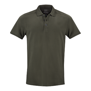 Mens Pique Martin, Dark Olive, South West Everywear, Organic, Fairtrade & GOTS