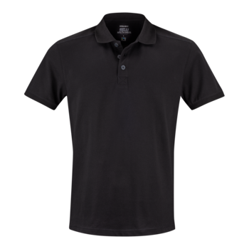 Mens Pique Martin, Black, South West Everywear, Organic, Fairtrade & GOTS