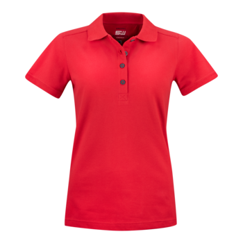 Women's Pique Magda, Red, South West Everywear, Organic, Fairtrade & GOTS