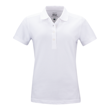 Women's Pique Magda, White, South West Everywear, Organic, Fairtrade & GOTS