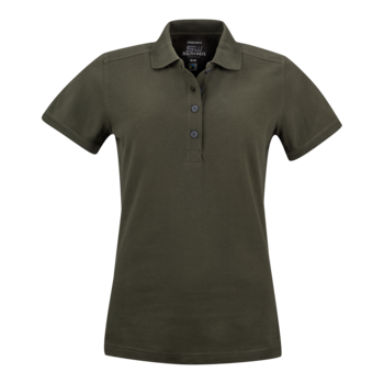 Women's Pique Magda, Dark Olive, South West Everywear, Organic, Fairtrade & GOTS