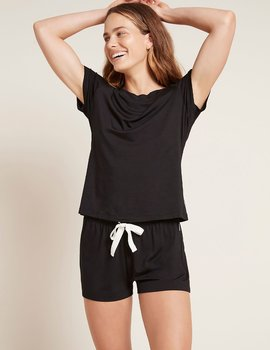 Goodnight Sleep Shorts, Black, Boody Bamboo Eco Wear, Organic