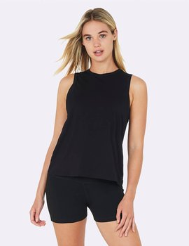 Active Muscle Tank, Black, Boody Bamboo Eco Wear, Organic