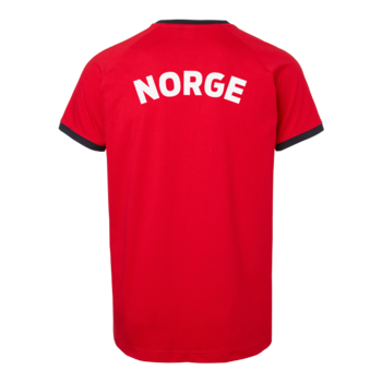 Norway Supporter T-shirt OHIO, Unisex, Red/Blue, South West, Organic & GOTS