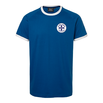 Finland Supporter T-shirt OHIO, Unisex, Blue/White, South West, Organic & GOTS