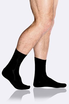 5-Pack Men's Business Socks, Black, Boody Bamboo Eco Wear, Organic - One Size 39-45
