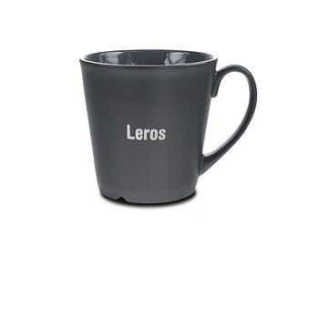 Stengodsmugg Leros 30 cl - 4 olika muggfärger - Inklusive 1-färgstryck - Stafflade priser