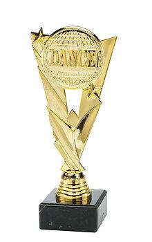 Statyett DANCE - ca 205 mm - Skylt med text ingår i priset