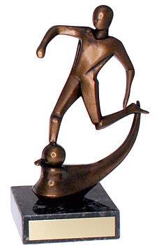 Fotbollsstatyett Art Design - 150 mm