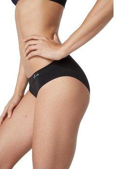 Women's Classic Bikini Underwear, Black, Boody Bamboo Eco Wear, Organic
