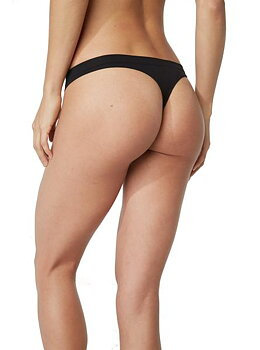 G-String, Black, Boody Bamboo Eco Wear, Organic