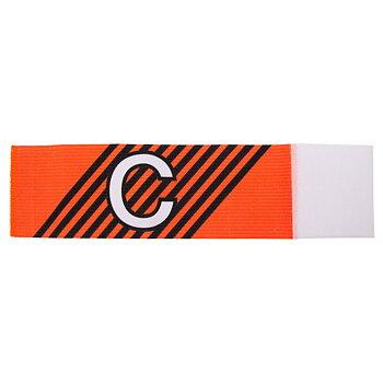 Kaptensbindel C med ränder - Stanno - Junior/Senior - Orange/Svart