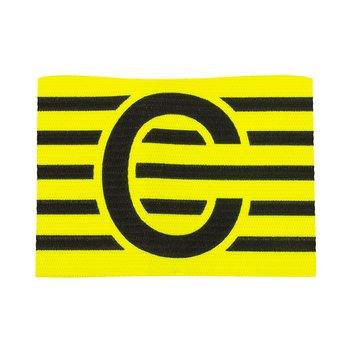 Kaptensbindel C med ränder - Stanno - Junior/Senior - Gul/Svart