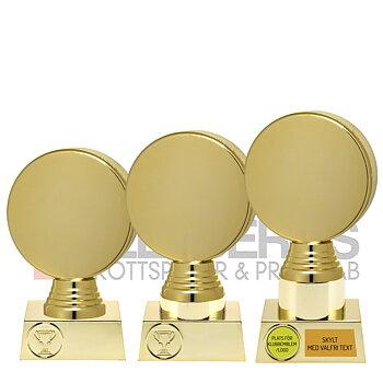 Statyett Ishockey Guld Sport Trophies - 3 olika storlekar - Inklusive skylt med text