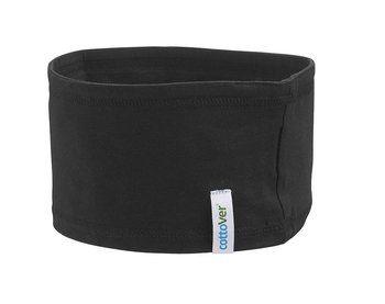 Headband, Cottover, Black, Fairtrade, Organic & GOTS