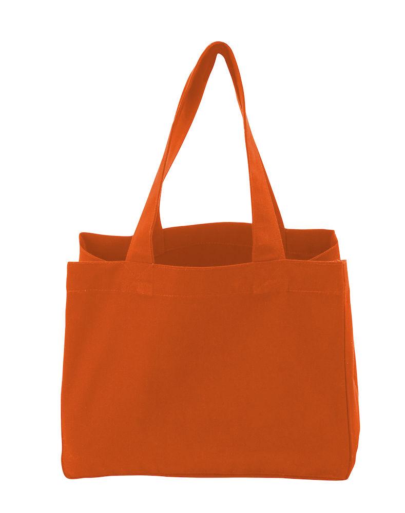 Tote Bag Heavy Large, Cottover, Orange, Fairtrade, EKO