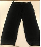 Ladies Pirat Sweat Pants, Black, Neutral, Fairtrade & EKO  GOTS