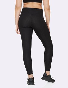 Full Length Active Tights 2,0, Black, Boody Bamboo Eco Wear, Organic