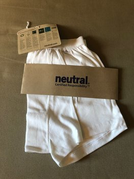 Mens Boxer Shorts, White, Neutral, Fairtrade & EKO  GOTS