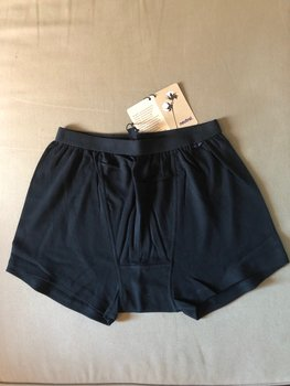 Mens Boxer Shorts, Black, Neutral, Fairtrade & EKO  GOTS