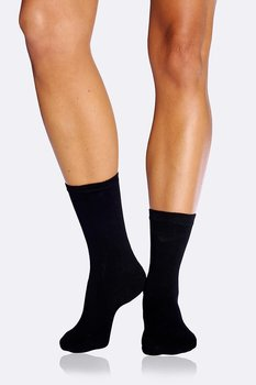 5-Pack Women's Everyday Socks, Black, Boody Bamboo Eco Wear, Organic - One Size