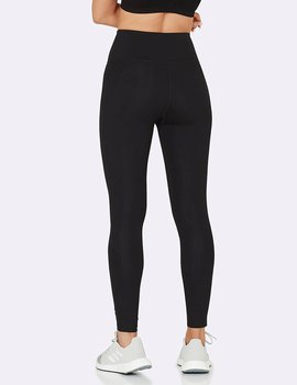 High Waisted Full Active Tights 2,0, Black, Boody Bamboo Eco Wear, Organic