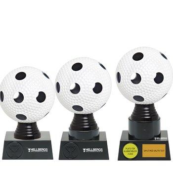 Statyett Innebandy Sport Trophies - Inklusive skylt med text - 3 olika storlekar