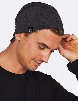 Beanie Soft Jersey, Unisex, Dark Grey, Boody Bamboo Eco Wear, Organic