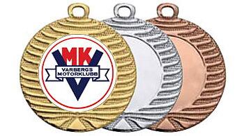 Medaljer 40 mm - Pris inklusive valfritt motiv och valfri text på baksidan