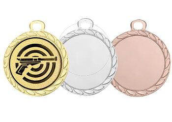Medaljer 32 mm - Pris inklusive valfritt motiv och valfri text på baksidan