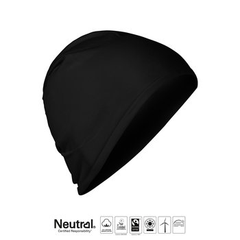 Beanie tunn - Neutral - Fairtrade, EKO, GOTS - Svart