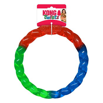 Hundleksak Twistz Ring Small KONG