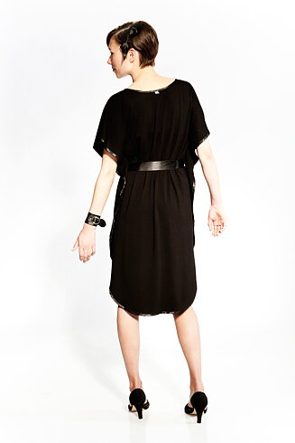 Bat tunic Black