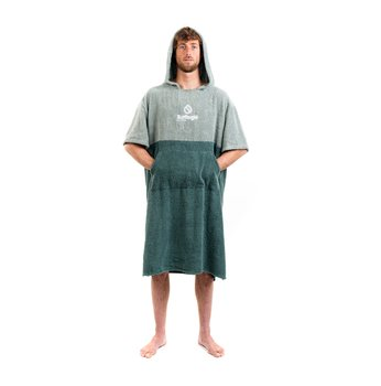 Surflogic Poncho Towel Green / Olive