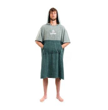 Surflogic Poncho Towel Green / Olive