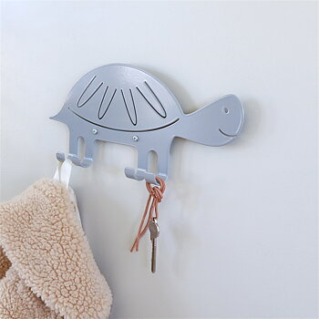 Wall Hook Turtle Gray