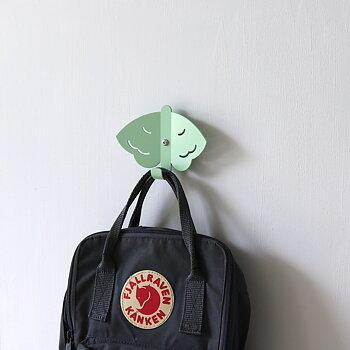 Wall Hook Butterfly Green