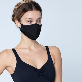 Ansiktsmasker med godkänt tyg, två olika färger, 1-pack