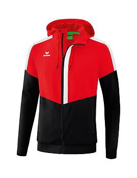 Erima Squad Track Top Jacket with hood