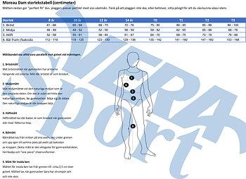 Gymnastikdräkt microfiber & glittrigt tyg